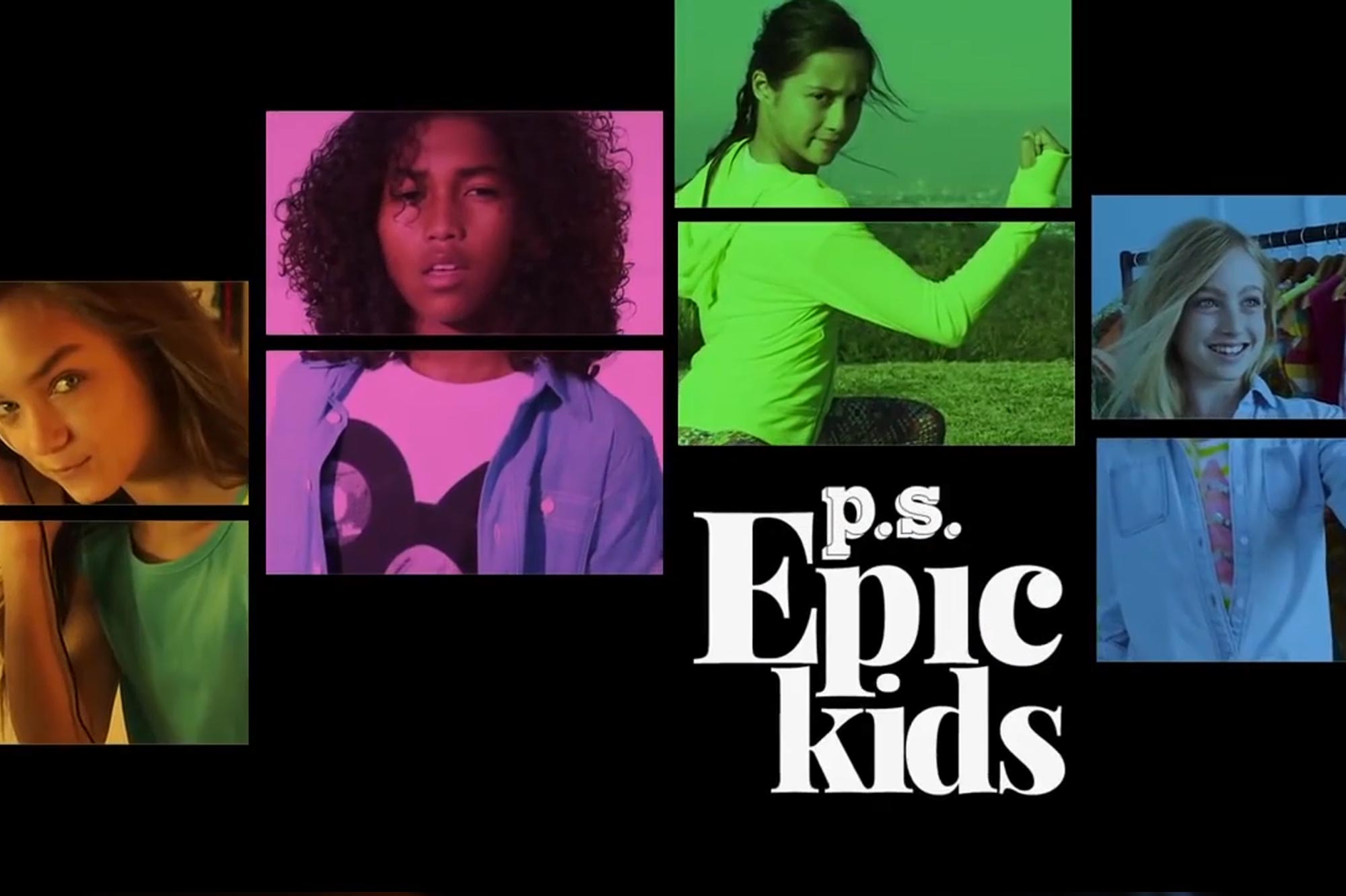 P.S. from Aéropostale — Epic Kids
