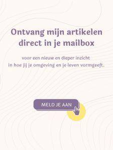 Ontvang mijn artikelen direct in je mailbox