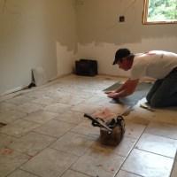 My Kitchen Re-Do! Porcelain Tile Floors