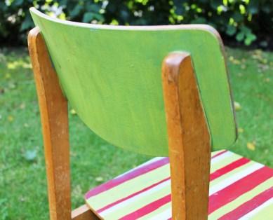 Make-Over: DDR-Stuhl vorher