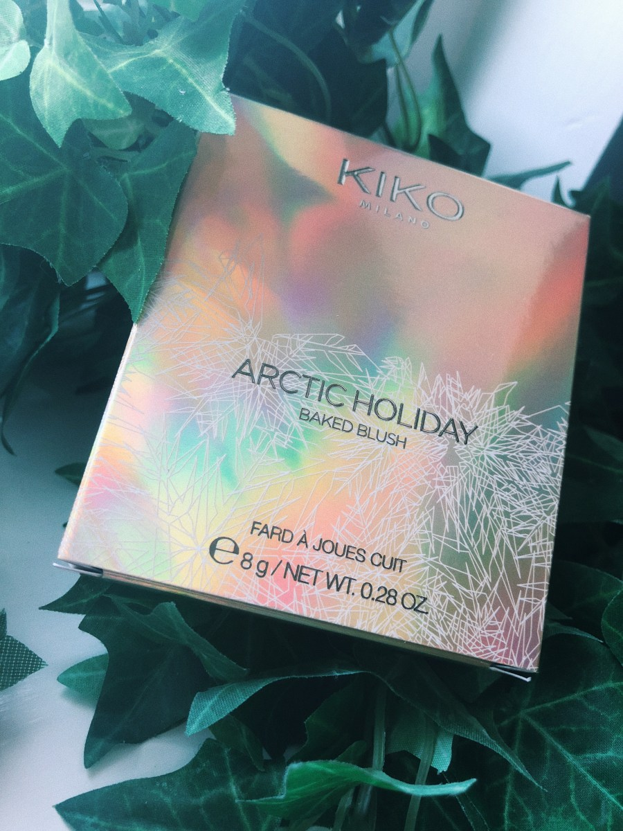 KIKO ARCTIC HOLIDAY BAKED BLUSH {REVIEW, PHOTO & SWATCHES}
