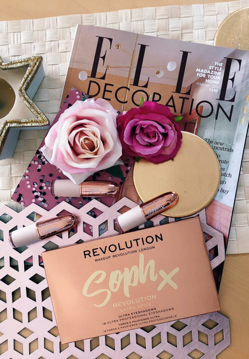 SOPH X REVOLUTION: EXTRA SPICE PALETTE & LIPSTICKS - REVIEW, SWATCHES & PHOTOS