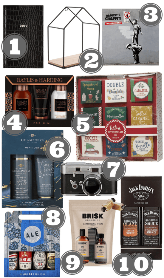Gifts For Him Under £10