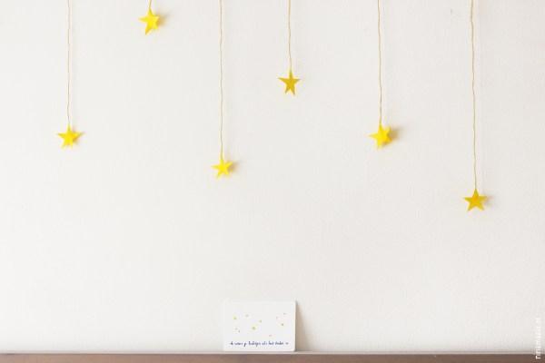 ninamaakt postcard 'Ik wens je lichtjes als het donker is'
