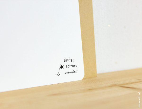 ninamaakt miniposter van de maand
