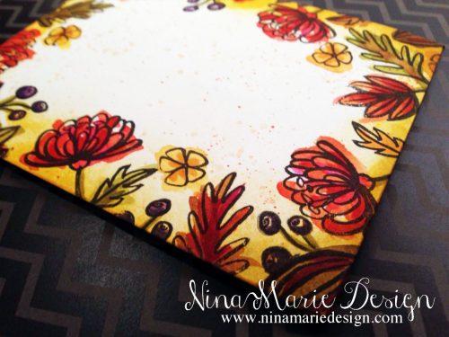 Thankful Leaves Envelope Art_3