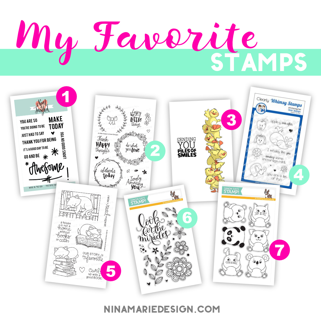 my favorite stamps_may