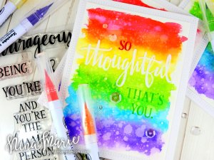 Faux Letterpress + Rainbow Backgrounds + Concord & 9th Birthday_1
