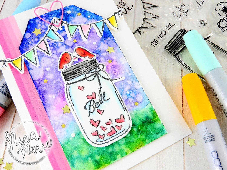 Combining Mediums | Nina-Marie Design