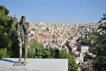 view of the city from Darat Al Funun