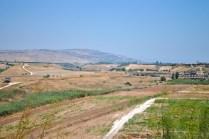 looking toward the old Hejaz Railway
