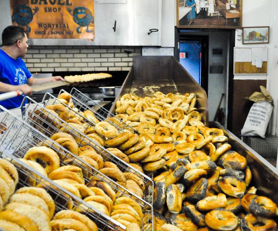 St Viateur Bagels in Montreal
