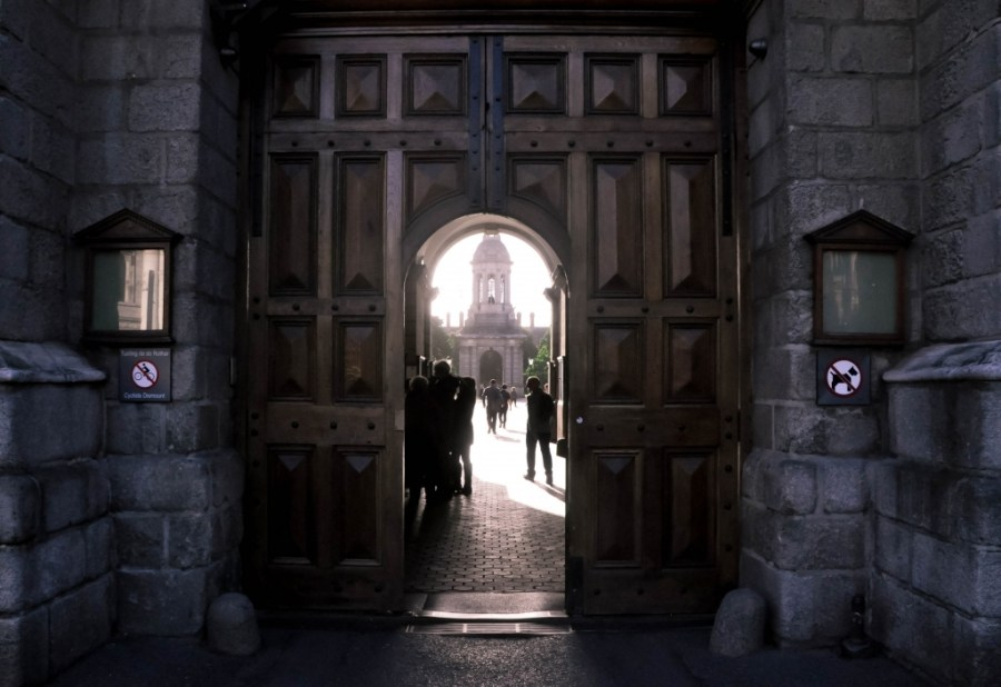 Trinity College in the Morning