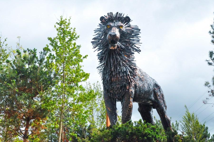 Aslan in Belfast at CS Lewis Square