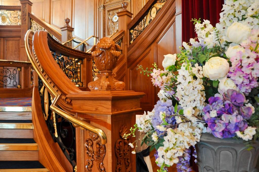 titanic staircase