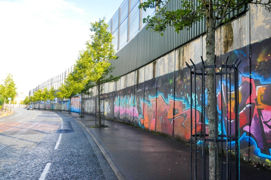 Belfast Wall of Peace