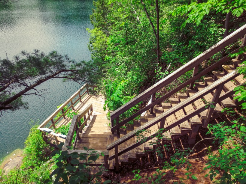 Pink Lake Trail Gatineau Park