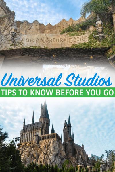 Universal Studios Orlando Tips pin