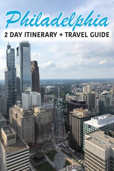 2 Days in Philadelphia Pin 1