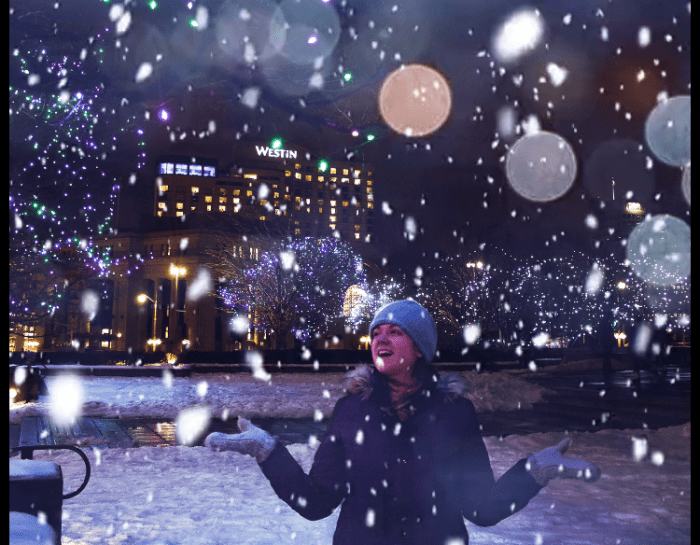 How to Add Falling Snow to Any Photo