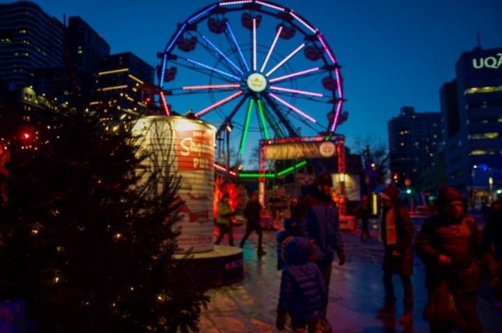 Montreal winter festivals