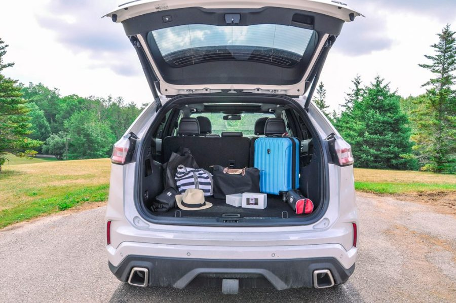 The 2019 Ford Edge - trunk