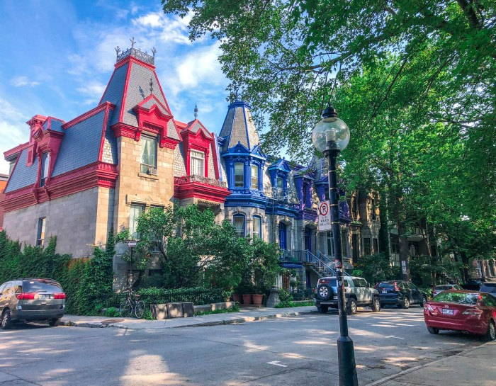 The Prettiest Places in Plateau Mont Royal Montreal + Map To Find Them