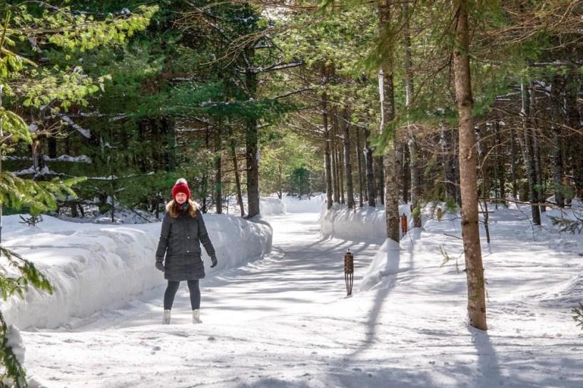 Lac des Loops Skating Trail near Ottawa