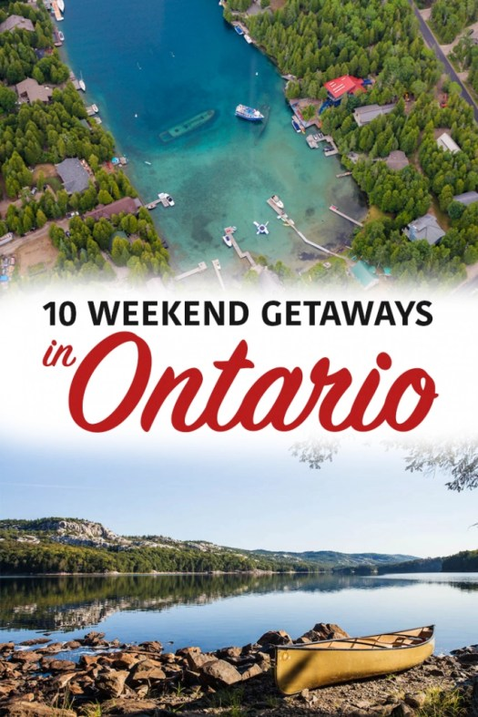 10 Weekend Getaways in Ontario