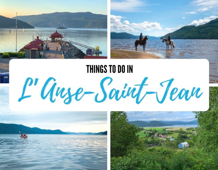 Things to do in L'Anse-Saint-Jean, Quebec