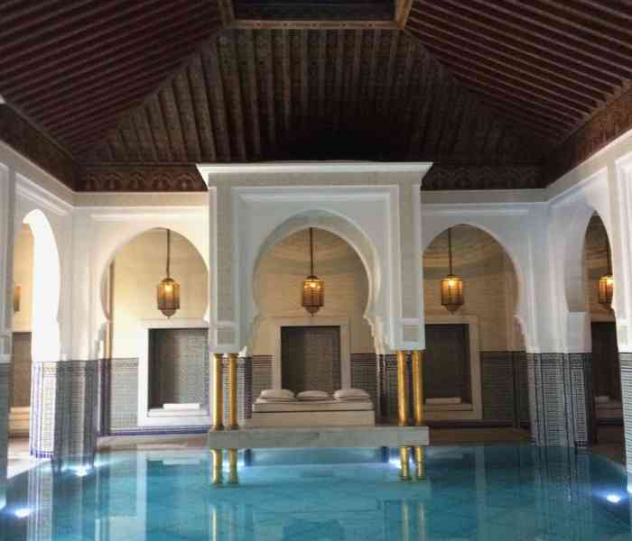 Visiting a Moroccan Hammam