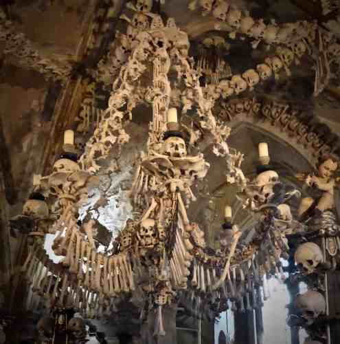 Famous Bone Church Chandelier