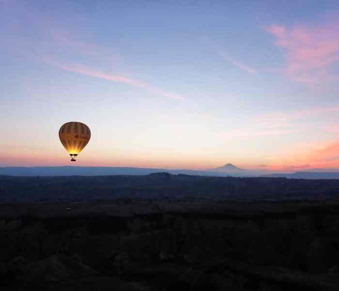 Hot Air Ballooning in Cappadocia: From Fairy Chimneys to Flying High