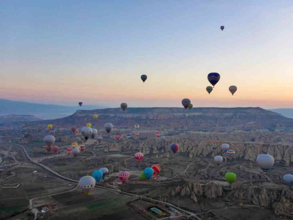 Hot Air Ballooning in Turkey