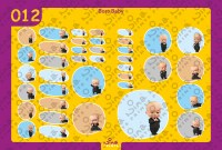 Boss Baby Back to School Stickers/ Labels From Nina Prints