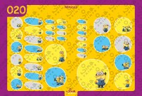 Minions Back to School Stickers/ Labels From Nina Prints