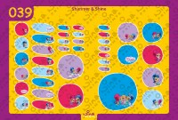Shimmer & Shine Back to School Stickers/ Labels From Nina Prints