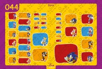 Sonic Back to School Stickers/ Labels From Nina Prints