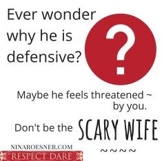 Wondering why heis defensive-