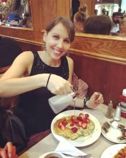Pancakes at Applejacks - oh yeah!
