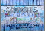 UM Student Composers Concert Poster - April 2015