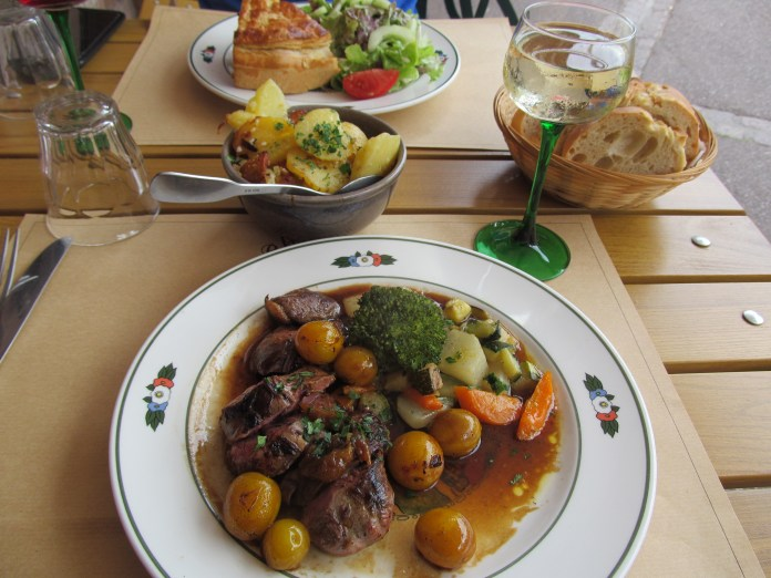 Hearty but elegant food