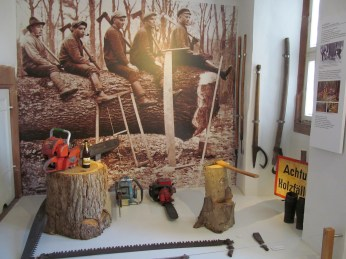Woodcutters' tools