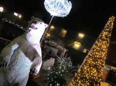 Polar bears at Nyhavn Christmas Market