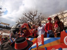Mainz 05 soccer team float