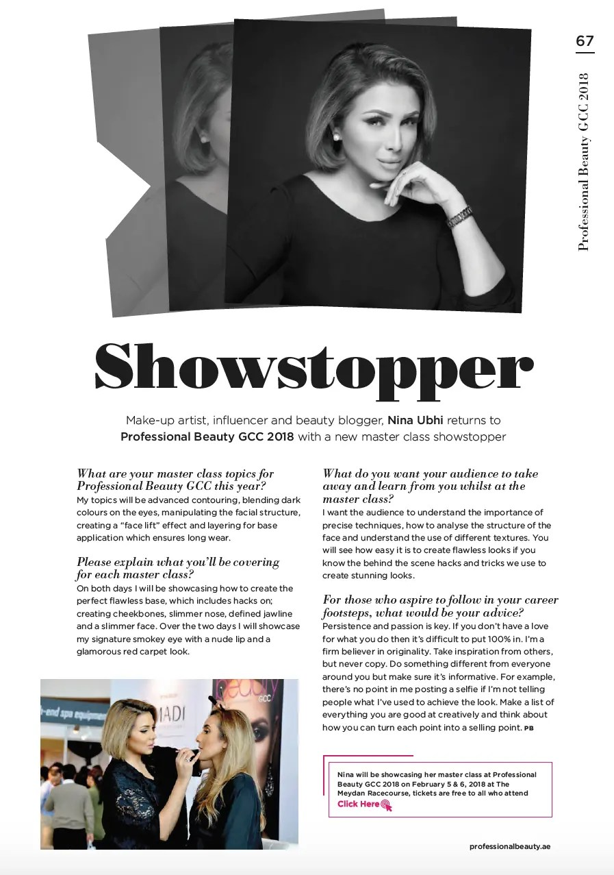 Nina Ubhi | In the Press