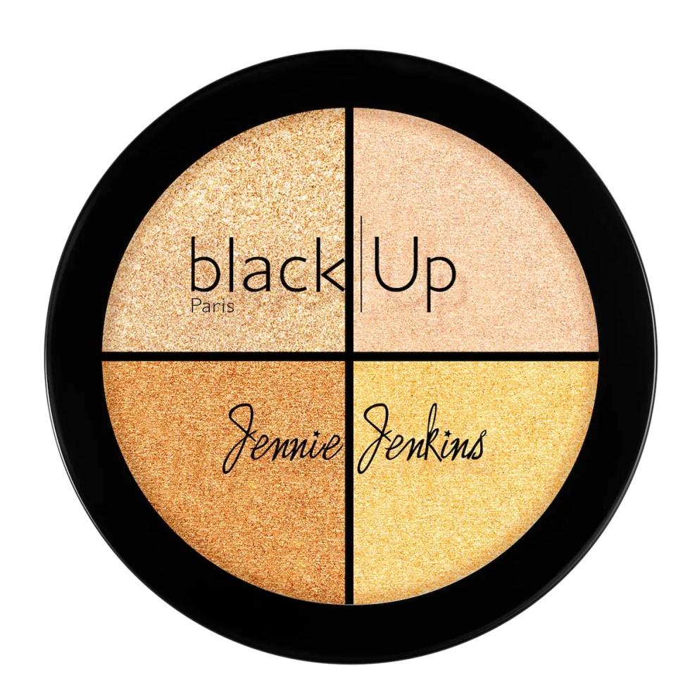 Black Up x Jenny Jenkins Highlighter Palette - AED