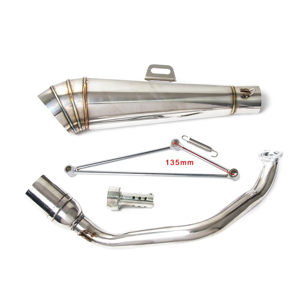 Exhaust Muffler Pipe For Honda Ruckus Zoomer With Gy6