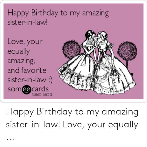 20 Funny Happy Birthday Sister In Law Meme Photos Nine Bro
