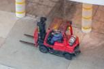 Hard Working Fork Lift Drivers